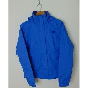 North Face Xs Hyvent Windbreaker Rain Jacket Blue